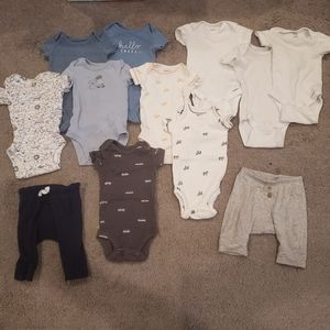 Carter's Newborn Boy Bundle